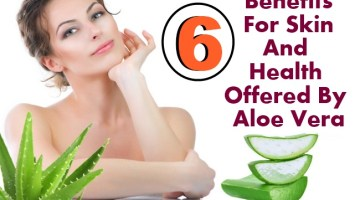 6 Benefits For Skin And Health Offered By Aloe Vera