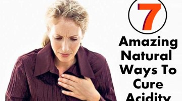 7 Amazing Natural Ways To Cure Acidity