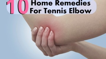 10 Effective Home Remedies For Tennis Elbow