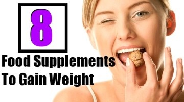 8 Food Supplements To Gain Weight