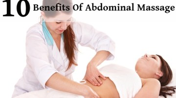 10 Surprising Benefits Of Abdominal Massage