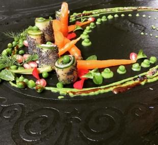 Variation de petits pois et carottes