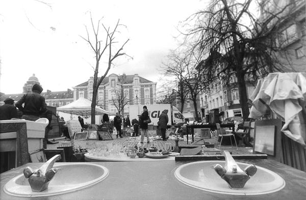Brussels Marolles Place Jou de Bal picture by Giancarlo Rocconi Laevinio