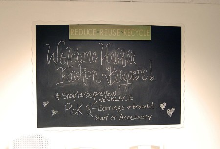 Welcome Houston Fashion Bloggers