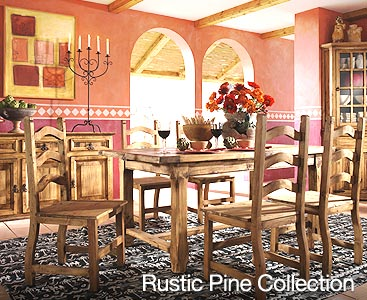 rustic furniture collection image mexican