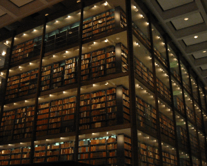 Books from Yale's Beinecke Library