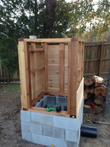 Cedar-smokehouse-construction-8