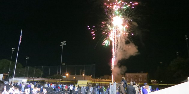 Fireworks Over LHS After Lakewood's Homecoming vs Rocky River