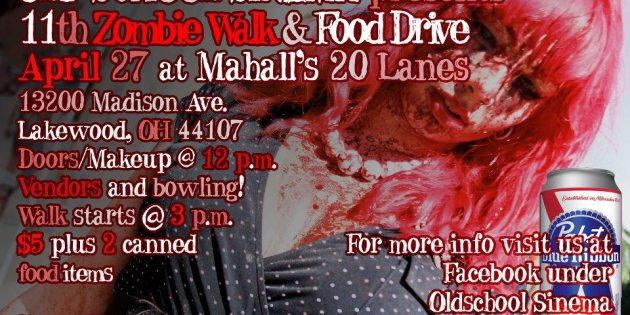 Zombies Spring Forward at Mahall's in April