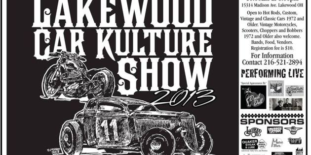 Lakewood Car Kulture Show Rumbles into Town August 17th