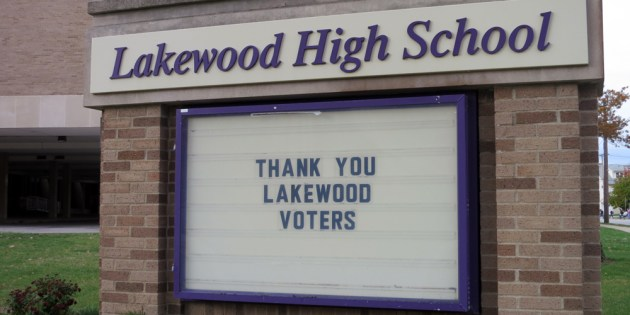 Lakewood Schools Thank Voters