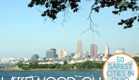 Lakewood, Ohio is on this list: The 50 Safest Cities in Ohio – SafeWise