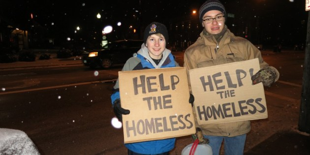 Kids in Lakewood Raise Awareness for the Homeless and Collect Donations this Weekend
