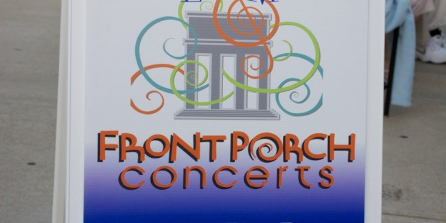 The First Five at Friday's Front Porch Concert in Lakewood