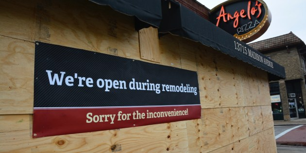 Angelo's Pizza Still Open During Construction – Big Change Coming