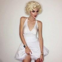 Chiara Ferragni de Marylin Monroe