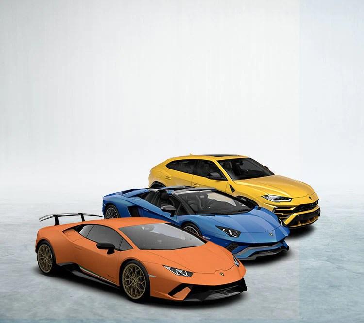 Configurator. Customize Your Lamborghini