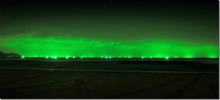 horizonte verde