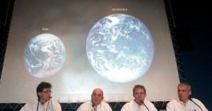 Astrónomos descubren un planeta que en comparación, deja a la Tierra como una mierda