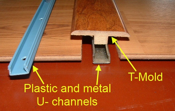 A Example Of One Floor Being Higher Than The Other When Installing Laminate  Transition Mold