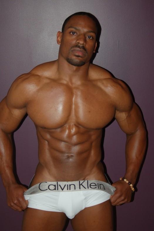 sexy black Man