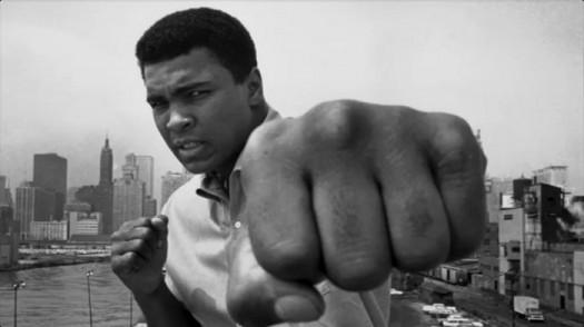 Muhammad Ali Punching