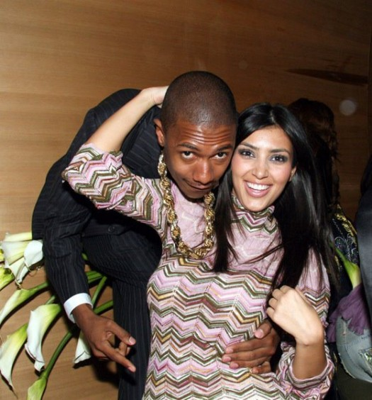 Kim Kardashian And Nick Cannon