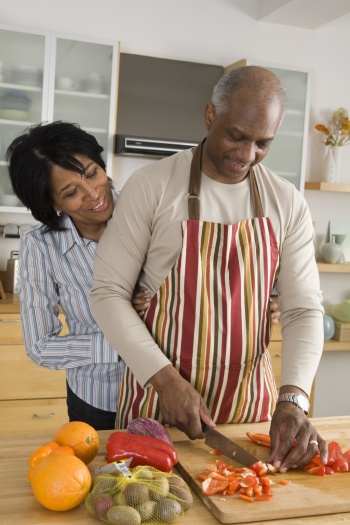 black-couple-danielfast-preparation