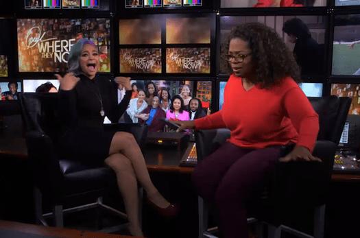 Raven Symone - Oprah Winfrey