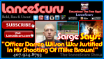 Darren Wilson Sarge Graphic