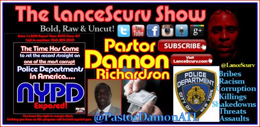 NYPD Damon Graphic