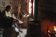 Spinning at the Homeplace