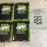 2006 TOYOTA LAND CRUISER Service Repair Shop Manual Set W Wiring Diagram EWD OEM