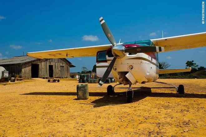 Plane to supply mines in the Amazon's interior
