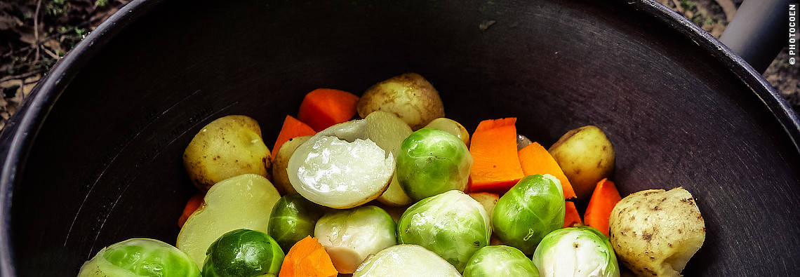 Steamed Vegetables in the Pressure Cooker (©photocoen)