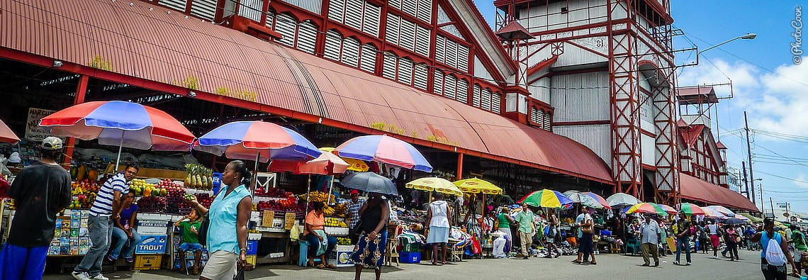 Stabroek Market in Guyana (©photocoen)
