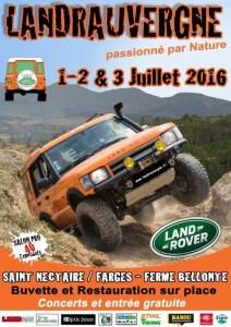8° Landrauvergne @ Landrauvergne 2016 | Saint-Nectaire | Auvergne | France