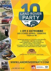 10° Land Rover Party @ Les Comes | Les Comes | Comunidad Valenciana | Espagne