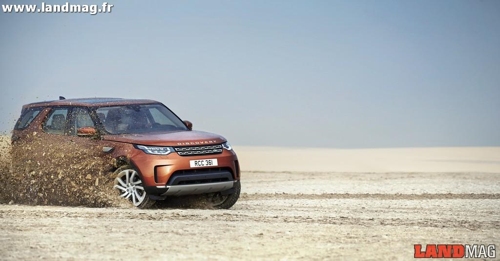 Avant-première: les photos du nouveau Land Rover Discovery 5