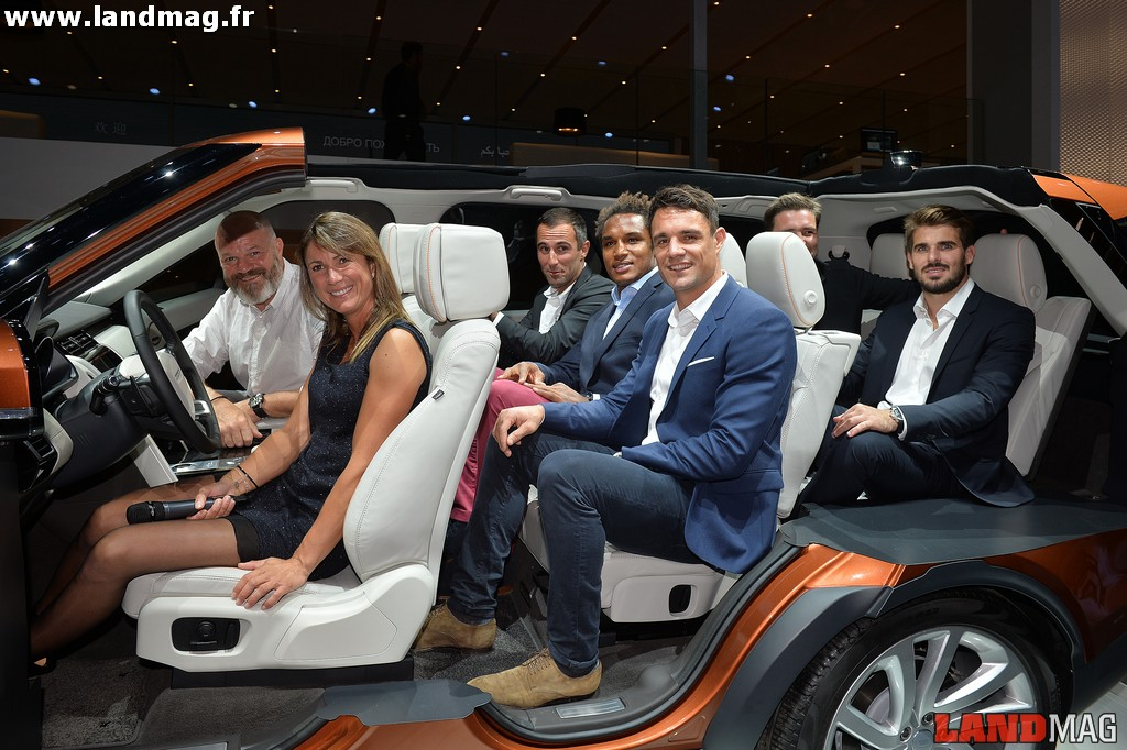 Photos : la soirée VIP de Jaguar Land Rover au Mondial de l'Auto