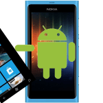Droid pushing Windows out of Nokia Lumia