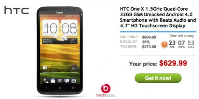 Unlocked HTC One X Deal