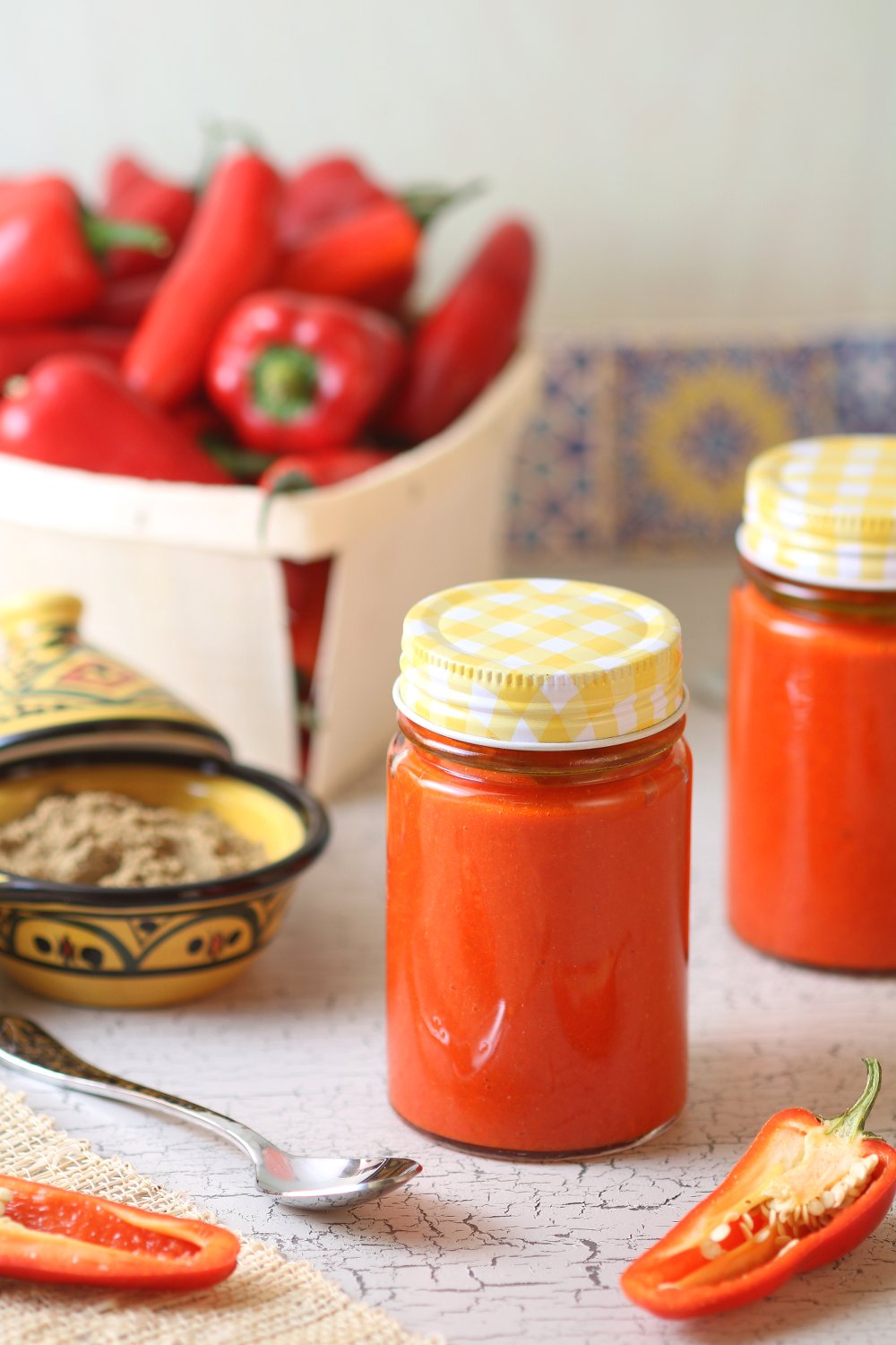 A simple recipe for tasty Homemade Tunisian Harissa paste that you can make as spicy or as mild as you want.