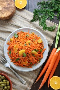 North African Carrot Salad | Lands & Flavors