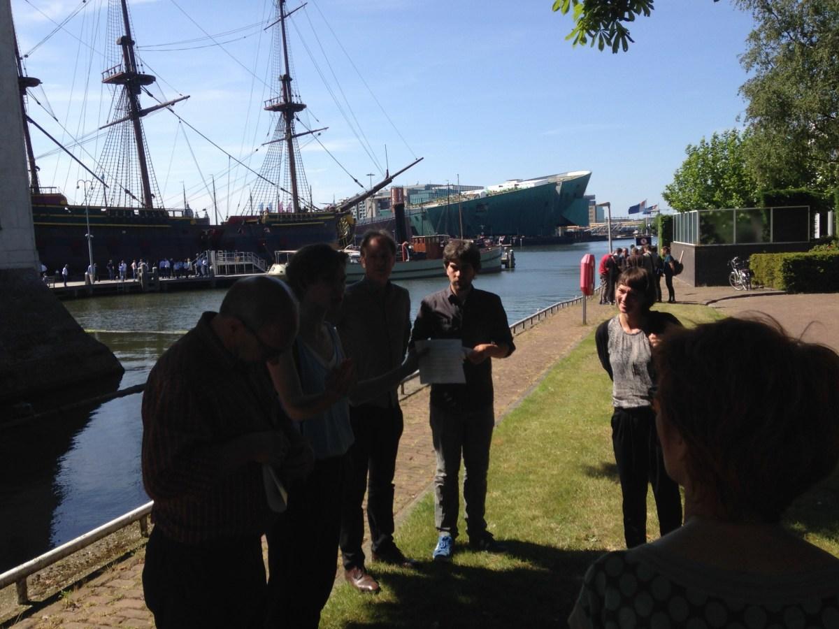 Rondleiding over voormalig marineterrein Amsterdam