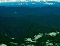 By storing carbon, forests help mitigate climate change. Aerial view of northern Papua. Photo: Mohammad Edliadi/CIFOR