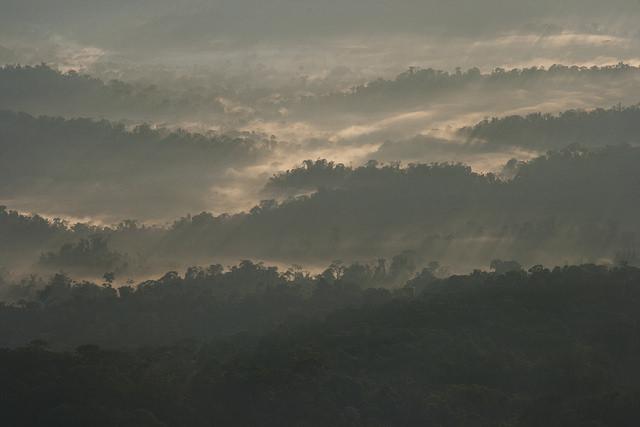 Sunrise over Cordillera National Park, Peru. Source: Toni Fish (Flickr).