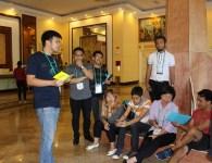 Karen and Jan Joseph, YIL alumni, organizing masterclasses in the Philippines