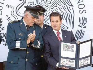 Cienfuegos: claro que hay desgaste; Peña destaca valor de fuerzas armadas