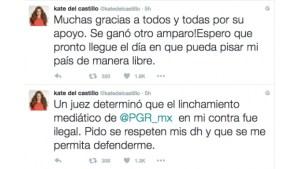 Linchamiento de la PGR en mi contra fue ilegal: Kate del Castillo